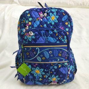 Mickey Dreaming Vera Bradley Campus Backpack